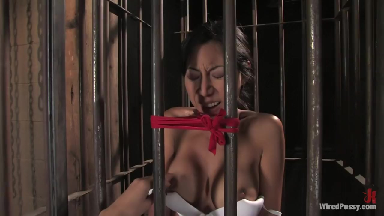 Horny fetish, asian xxx scene with exotic pornstars Bobbi Starr and Tia Ling from Wiredpussy