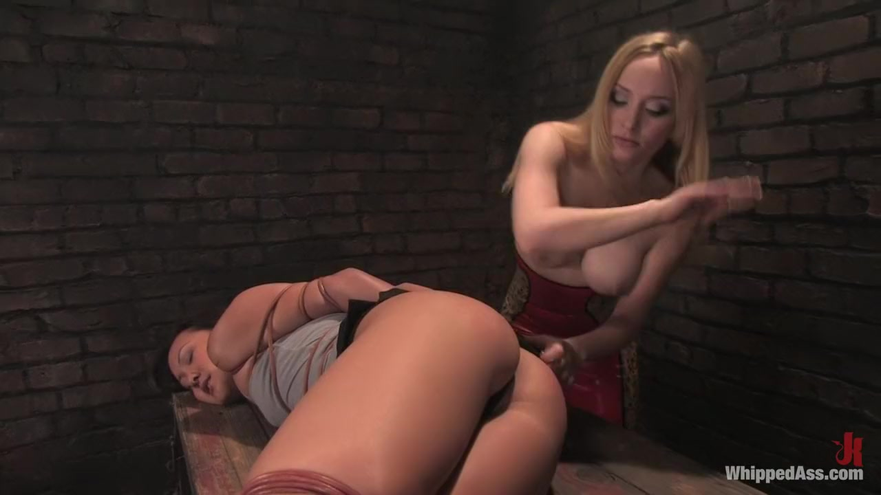 Incredible fetish, asian adult scene with fabulous pornstars Aiden Starr and Jandi Lin from Whippedass