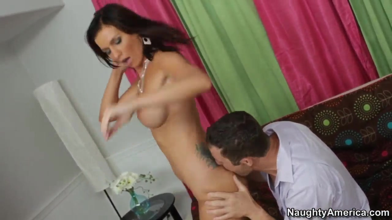 Tattooed brunette bitch Carina Roman gets her pussy drilled from Jack Lawrence