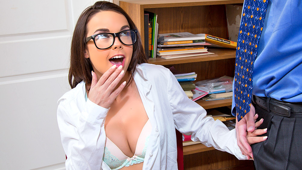 Dillion Harper & Mark Wood in Naughty Book Worms