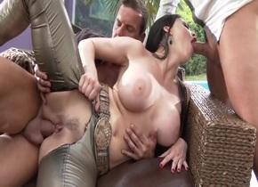 Best pornstar Aletta Ocean in crazy dp, anal xxx clip