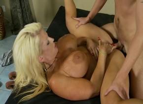 Exotic pornstar Alura Jenson in best big tits, squirting porn clip