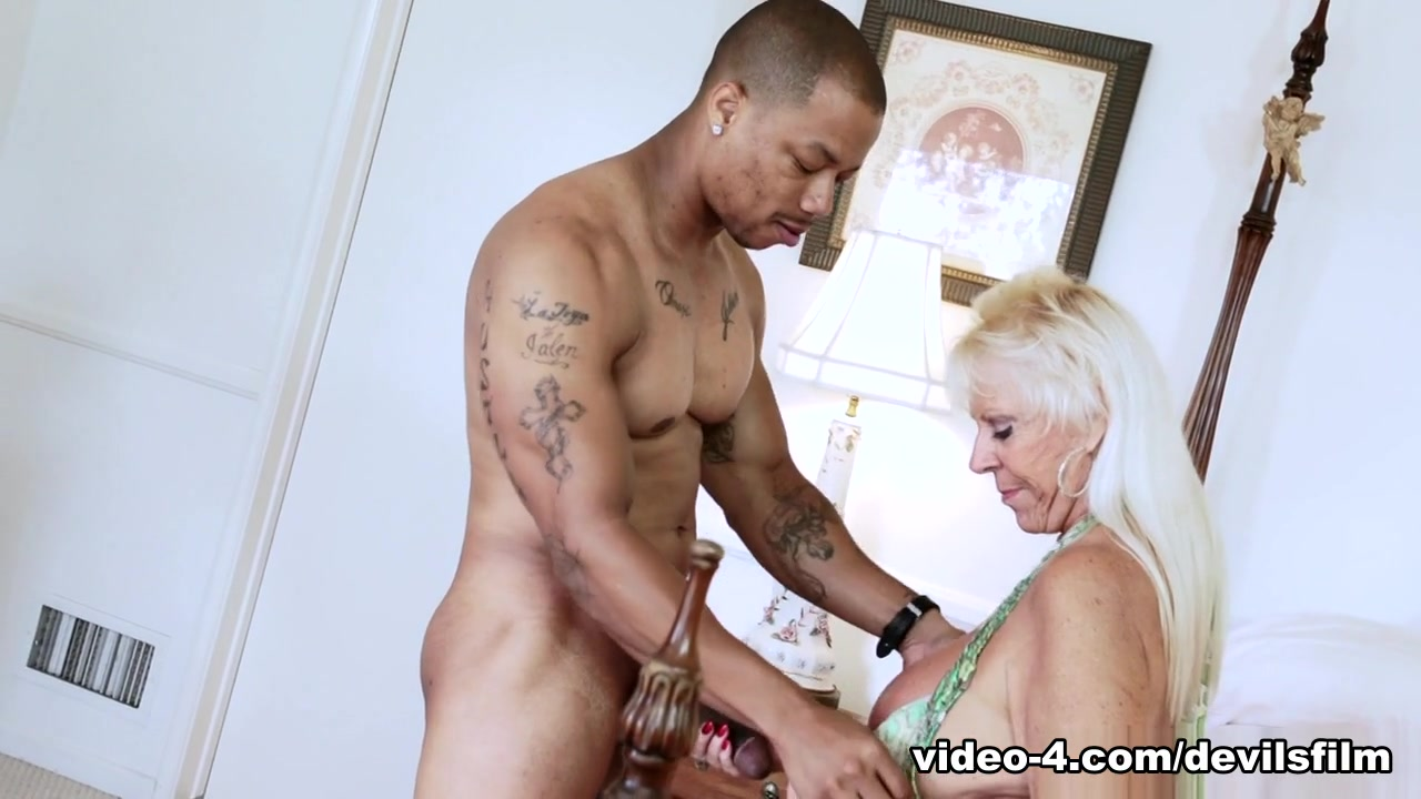 Horny pornstar in Hottest Grannies, Interracial porn clip