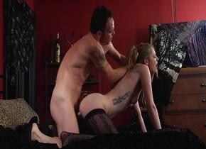 Incredible pornstar Ela Darling in hottest cunnilingus, blonde porn clip