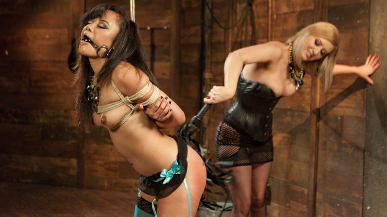 Hottest fetish, anal sex scene with fabulous pornstars Annie Cruz and Cherry Torn from Whippedass